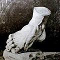 13歲的畢卡索的腳