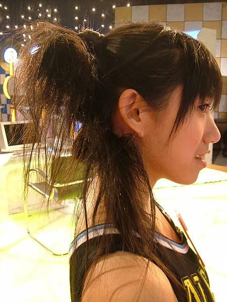 哇  這是什麼髮型