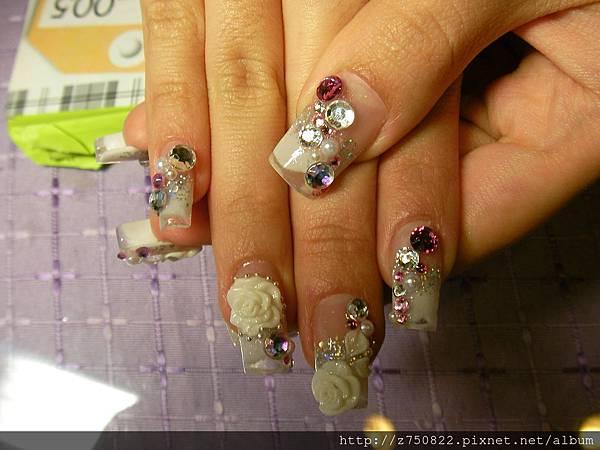 結婚~水晶指甲