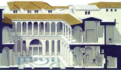 奧古斯都宮復原圖(圖片來源:google)