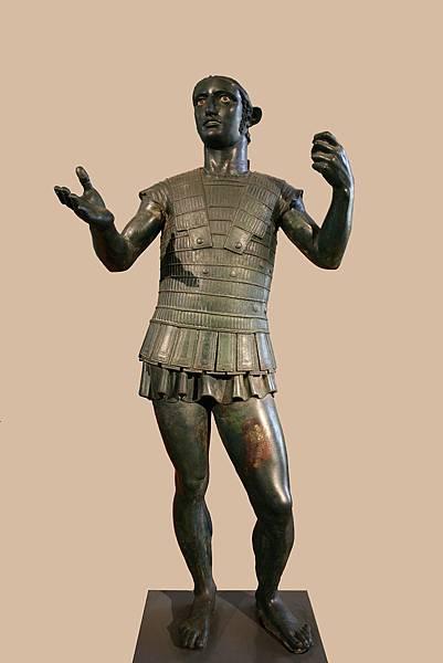 22.61伊特魯裏亞館-第3室 特迪的戰神像(圖片來源:google).JPG