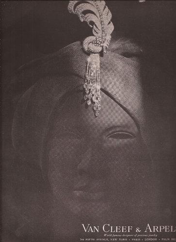 Van Cleef & Arpels 梵克雅寶 1948 年廣告。