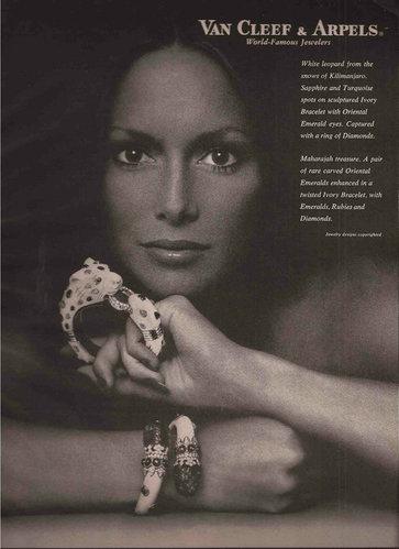 Van Cleef & Arpels 梵克雅寶 1972年廣告。