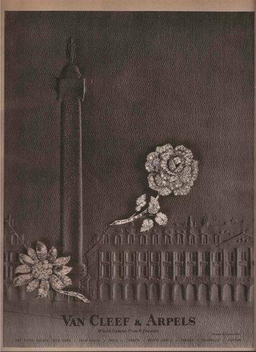Van Cleef & Arpels 梵克雅寶 1963年廣告。