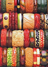 Bakelite 膠木 各種顏色手環(圖片取自網路)