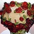 賽璐璐玫瑰花瓶