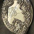 百年歲月UB(Unger Brothers)天使雕刻純銀手鏡 4