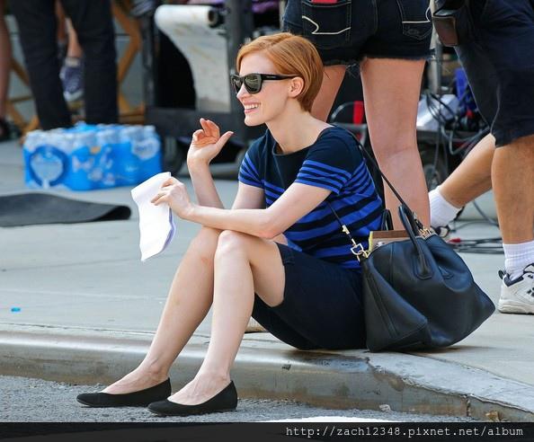 Actress+Jessica+Chastain+seen+shooting+scenes+BQP9IOXc_6sl.jpg
