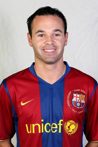 06 (MF) Andrés Iniesta