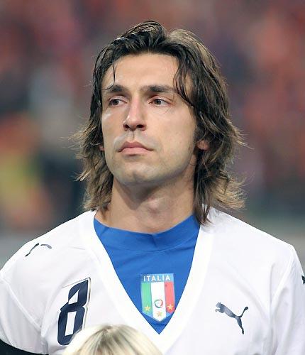 21 (MF) Andrea Pirlo