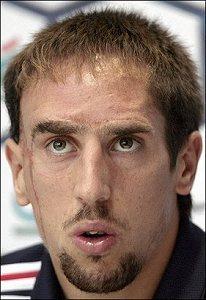 22 (MF) Franck Ribéry