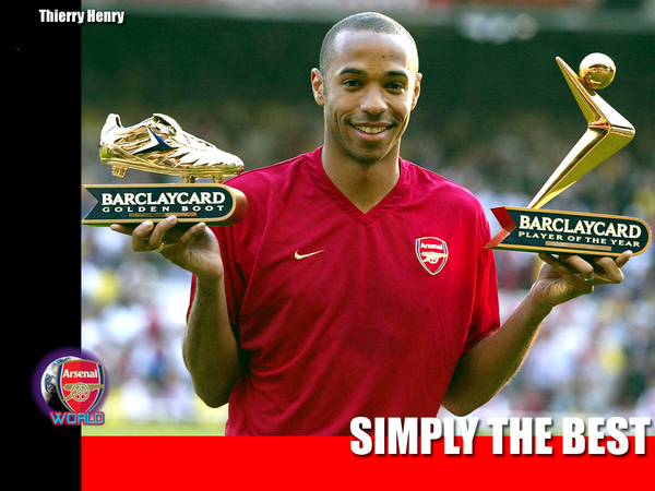 12 (FW) Thierry Henry