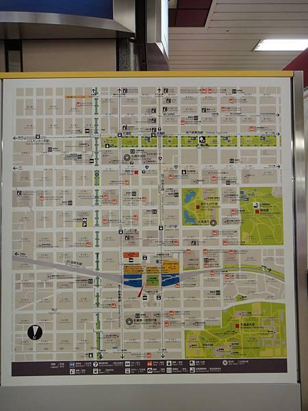 [札幌] JR札幌站地圖.JPG