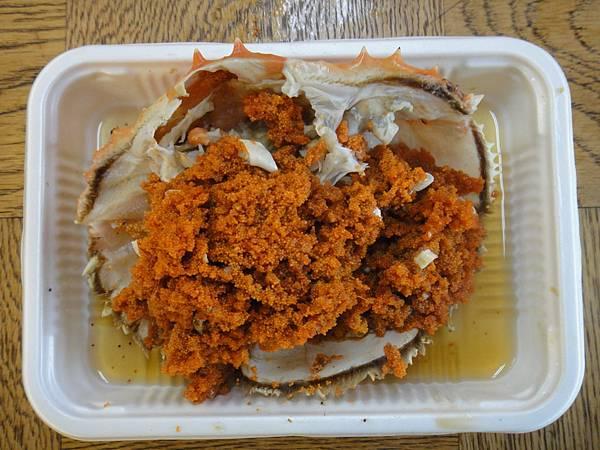 [小樽] 海鮮燒烤店-考蟹卵.JPG