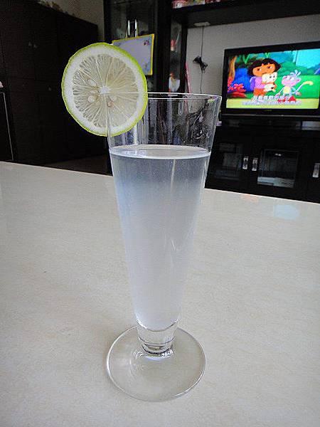 溫檸檬水.JPG