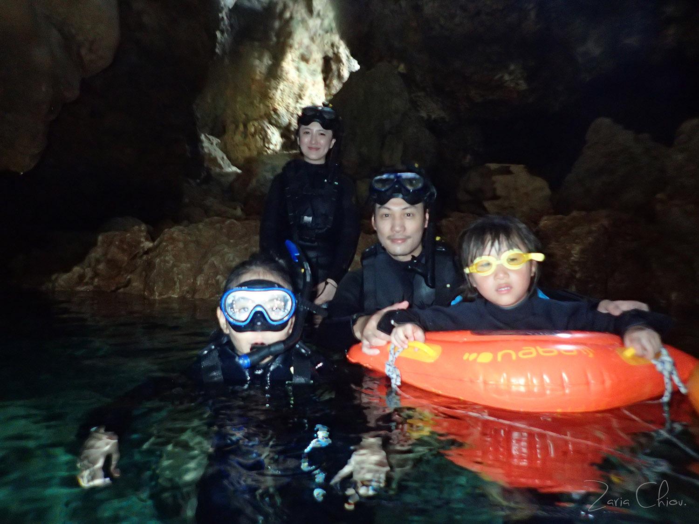 Gigi青洞浮潛 青洞深處