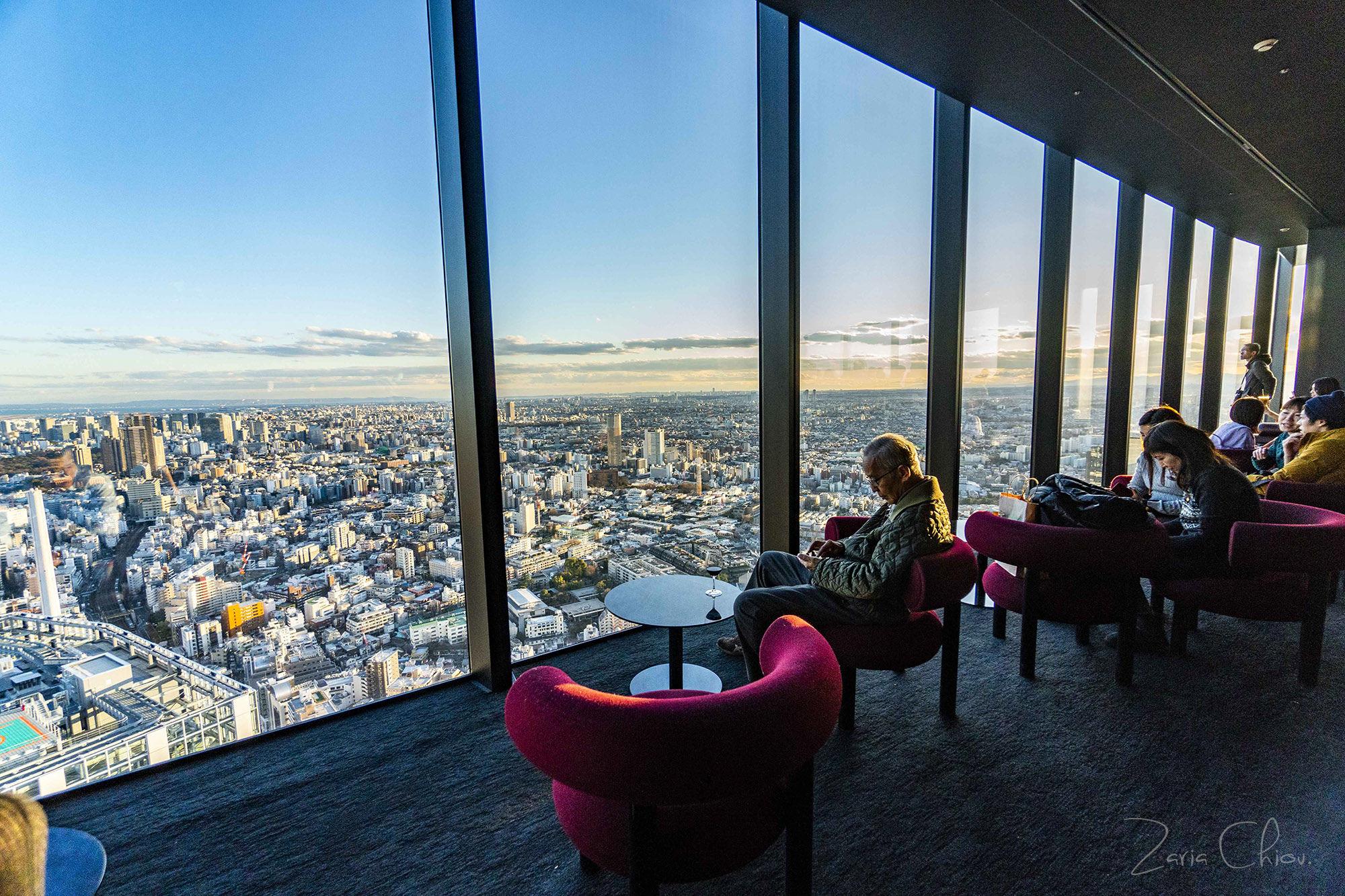 SHIBUYA SKY_Paradice Lounge