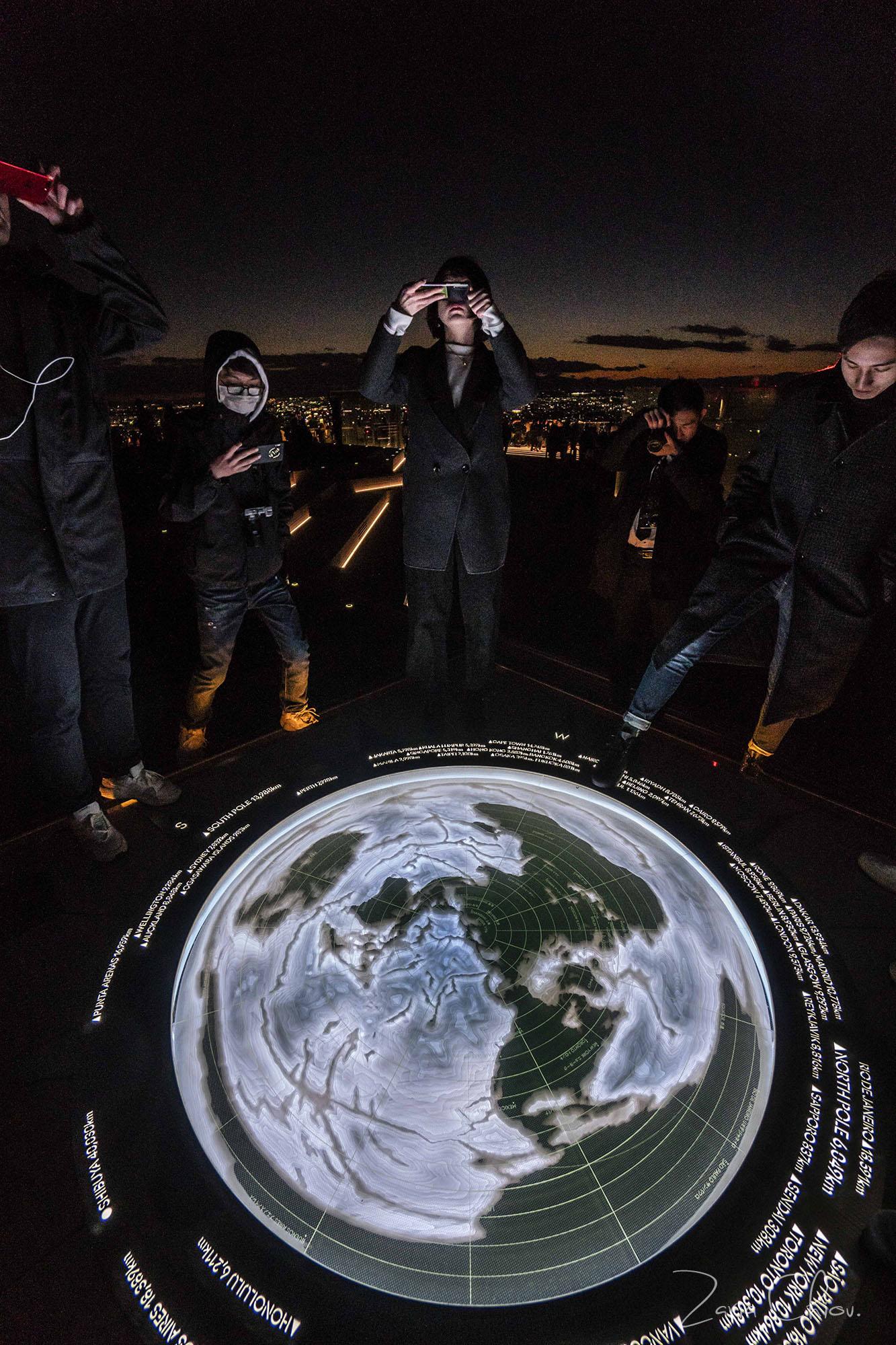 SHIBUYA SKY _ Geo Compass