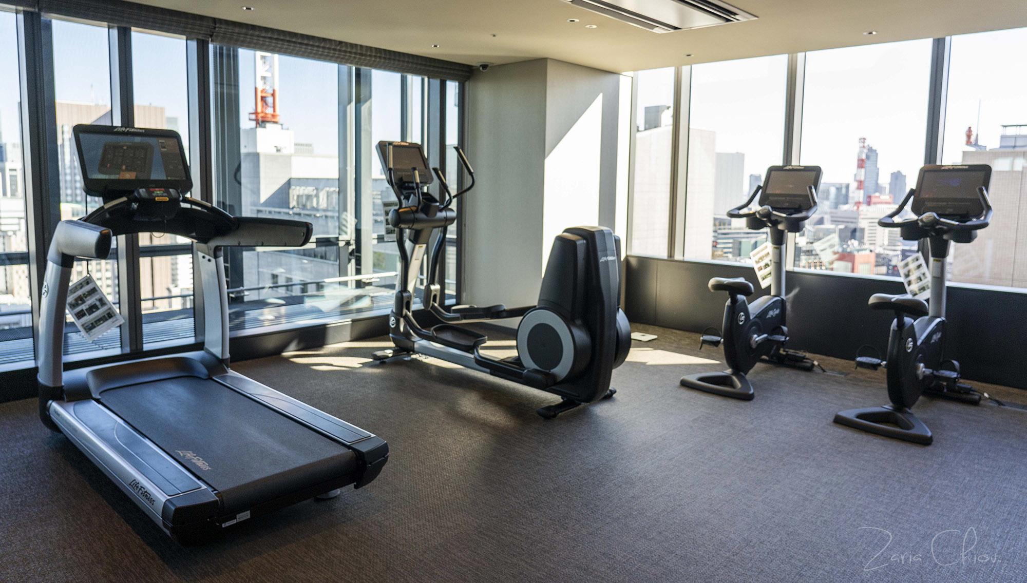 BLOSSOM HIBIYA_Fitness Room