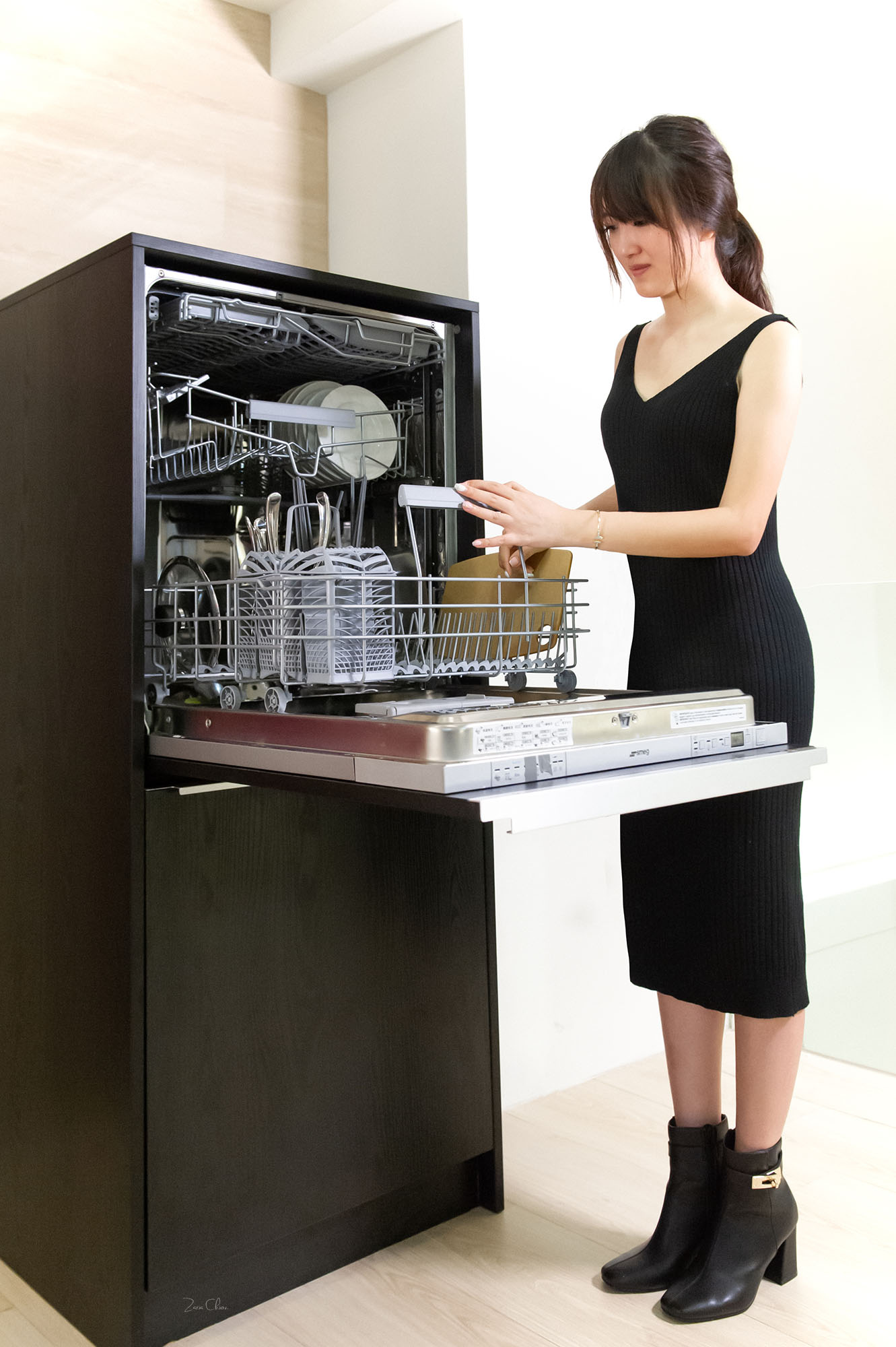 Smeg全嵌式洗碗機