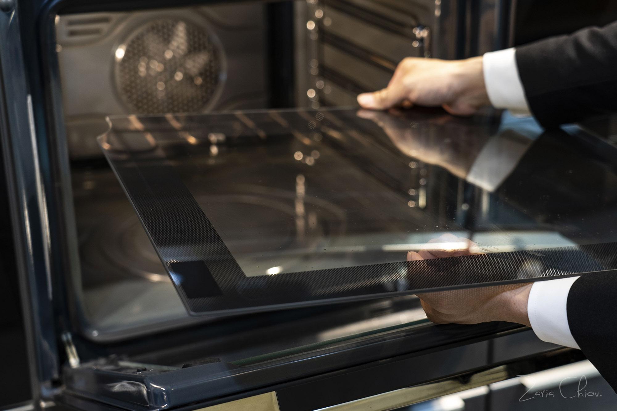 Smeg烤箱 四層安全玻璃