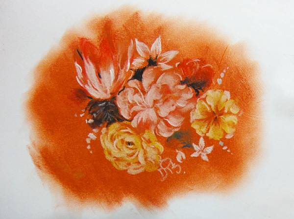 ●花卉粉彩畫示範(1)