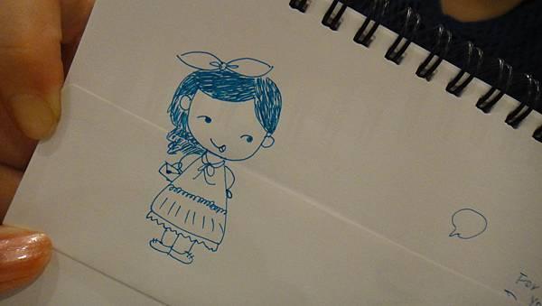 》學生鋼珠筆畫_人物畫法練習(3)