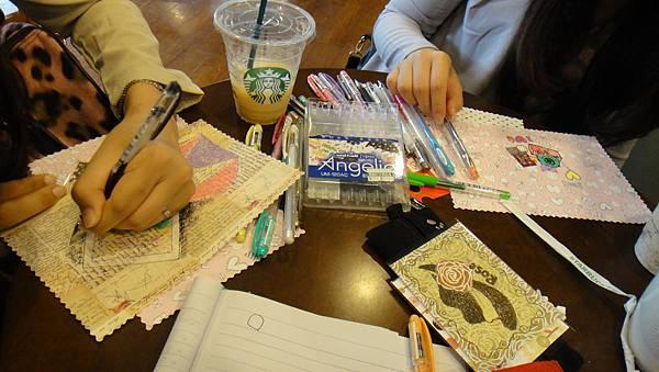 》學生美術紙創意畫練習(2)