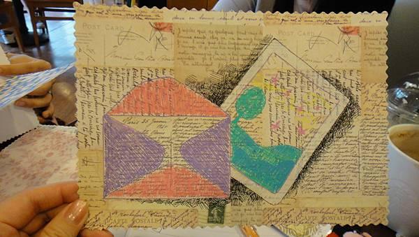 》學生美術紙創意畫練習(3)