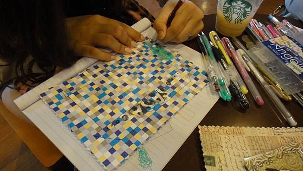 》學生美術紙創意畫練習(7)