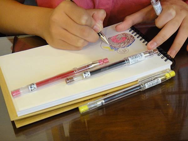 》學生鋼珠筆甜點畫(蛋糕)練習(1)