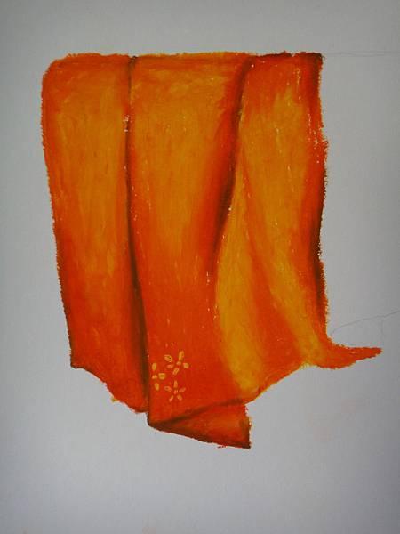 》學生布的皺摺畫法練習(5)