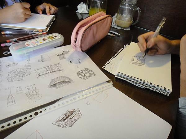 》學生鋼珠筆家具物品畫練習(1)