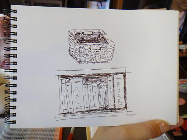 》學生鋼珠筆家具物品畫練習(3)