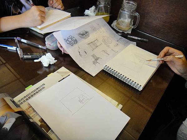 》學生空間透視練習(1)