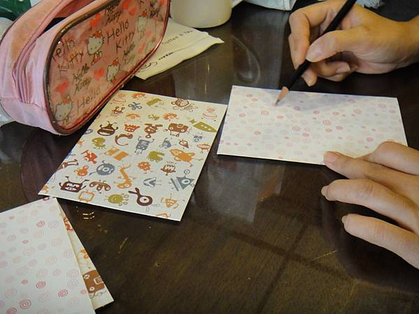 》學生鋼珠筆美術紙創意畫S_1