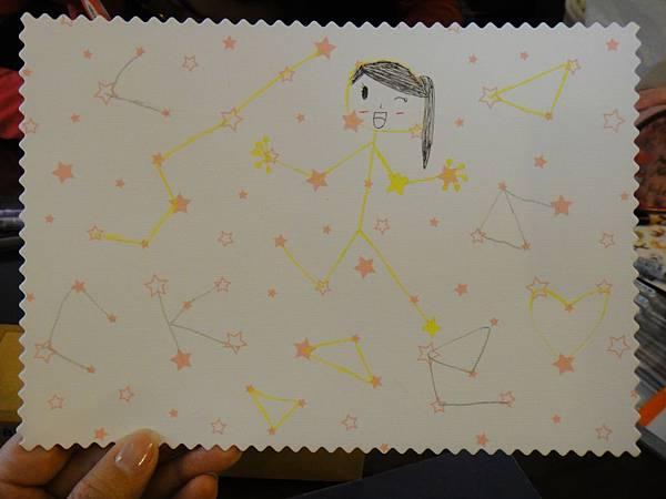 》學生鋼珠筆美術紙創意畫k_3