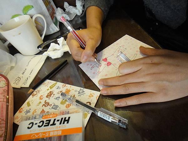 》學生鋼珠筆美術紙創意畫S_2
