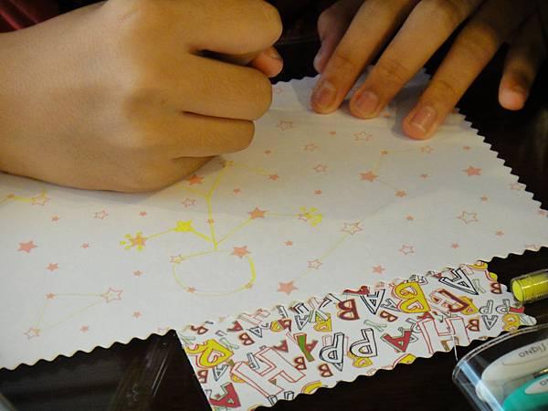》學生鋼珠筆美術紙創意畫k_2