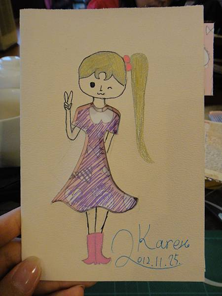 》學生鋼珠筆美術紙創意畫k_12