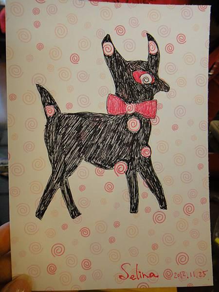 》學生鋼珠筆美術紙創意畫S_5