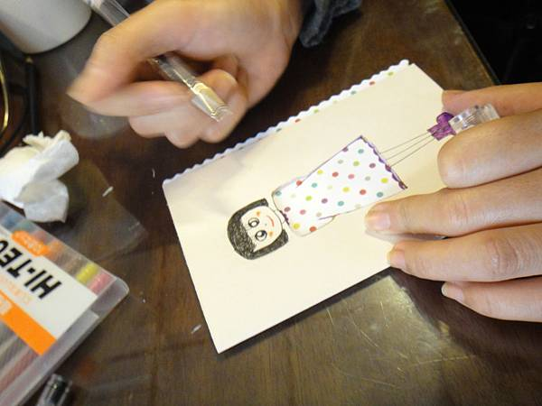 》學生鋼珠筆美術紙創意畫S_10