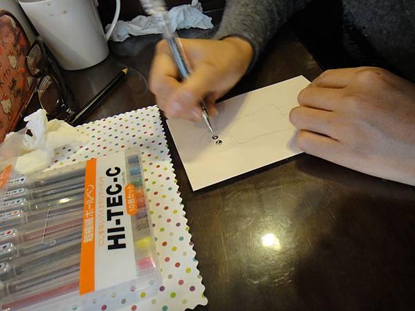 》學生鋼珠筆美術紙創意畫S_9