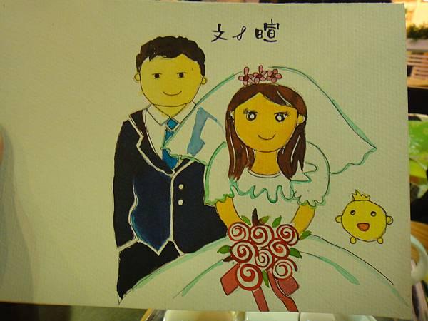 》學生Q版新郎新娘(成品)