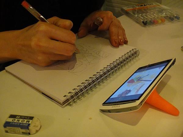 》學生甜點鋼珠筆畫練習(6)