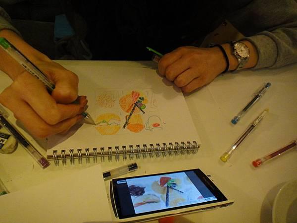 》學生甜點鋼珠筆畫練習(7)