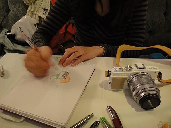 》學生甜點鋼珠筆畫練習(1)