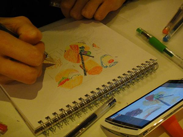 》學生甜點鋼珠筆畫練習(8)