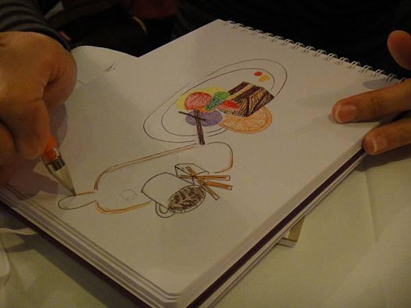》學生甜點鋼珠筆畫練習(4)