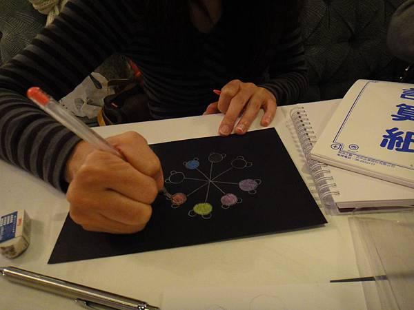 》學生黑底紙繽紛創意畫(2)